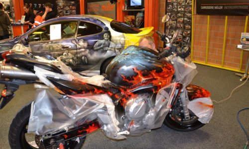 000579 Airbrush Motorrad 03