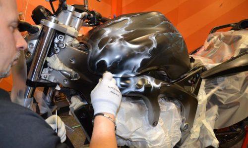000579 Airbrush Motorrad 05