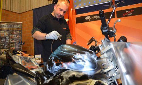 000579 Airbrush Motorrad 09